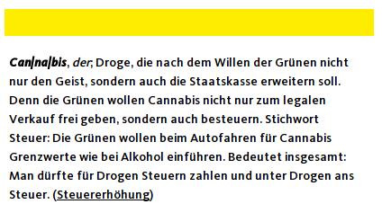 CDU warnt vor rotgrün Cannabis