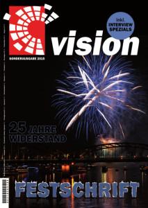 Festschrift VISION e.V. - 25 Jahre Widerstand