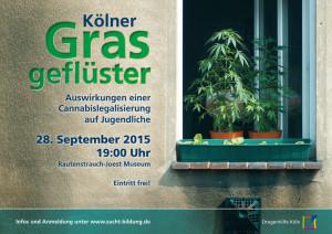 Kölner Grasgeflüster - Auswirkungen einer Cannabislegalisierung auf Jugendliche