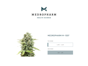 Medropharm Medical Cannabis M-1337
