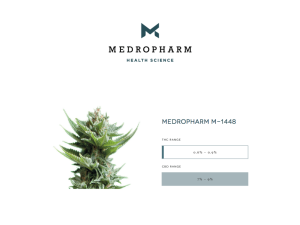 Medropharm Medical Cannabis M-1448