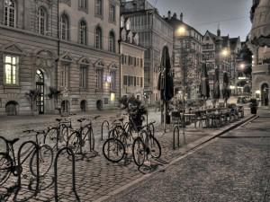 Innenstadt von Freiburg