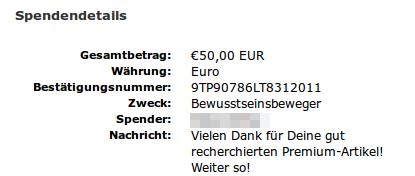 spende
